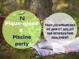 Pique-nique & Piscine Party au Novotel Pau Pyrénées