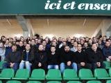Immersion au stade du Hameau pour Axione et ses collaborateurs